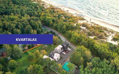 126 kv.m namas su vaizdu į jūrą Giruliuose Skautų g., 30 metrų nuo paplūdimio