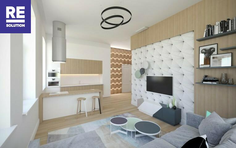 Parduodamas butas Birutės g., Žvėrynas, Vilniaus m., Vilniaus m. sav., 45.09 m2 ploto, 2 kambariai nuotrauka nr. 5