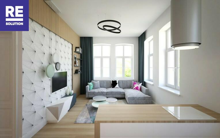 Parduodamas butas Birutės g., Žvėrynas, Vilniaus m., Vilniaus m. sav., 45.09 m2 ploto, 2 kambariai nuotrauka nr. 6