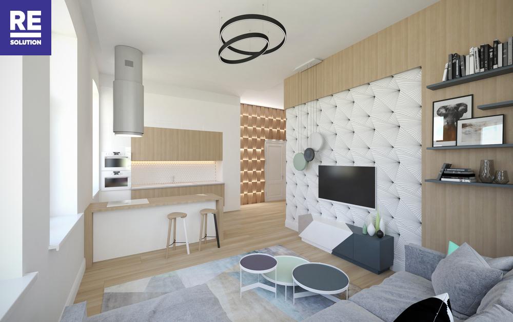 Parduodamas butas Birutės g., Žvėrynas, Vilniaus m., Vilniaus m. sav., 115.78 m2 ploto, 3 kambariai nuotrauka nr. 1