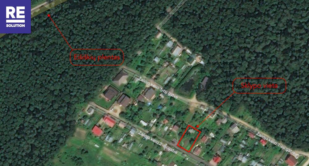 Parduodamas namas Žaliojo kelio 2-oji g., Naujininkai, Vilniaus m., Vilniaus m. sav., 17.41 m2 ploto nuotrauka nr. 3