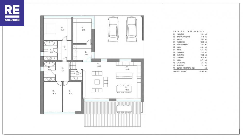 Parduodamas namas Šatrininkų g., Kalnėnai, Vilniaus m., Vilniaus m. sav., 151.8 m2 ploto, 1 aukštai nuotrauka nr. 24