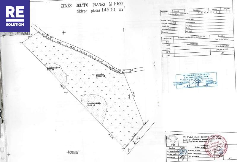 Parduodami žemės ūkio paskirties sklypai Alešiškių II k., 1964 a (19,64 ha) ploto nuotrauka nr. 7