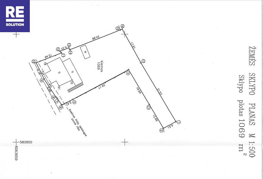 Parduodamas namų valdos paskirties sklypas Paribio g., Žvėrynas, Vilniaus m., Vilniaus m. sav., 11 a ploto nuotrauka nr. 2
