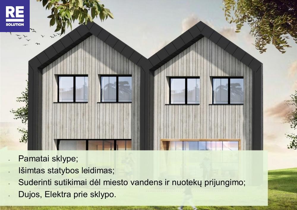 Parduodamas namų valdos paskirties sklypas Vincento Gorskio g., Tarandė, Vilniaus m., Vilniaus m. sav., 11.63 a ploto nuotrauka nr. 9