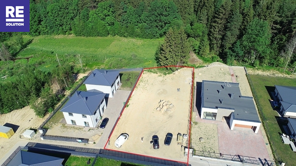 Parduodamas namų valdos paskirties sklypas Smėlio g., Pilaitė, Vilniaus m., Vilniaus m. sav., 13 a ploto