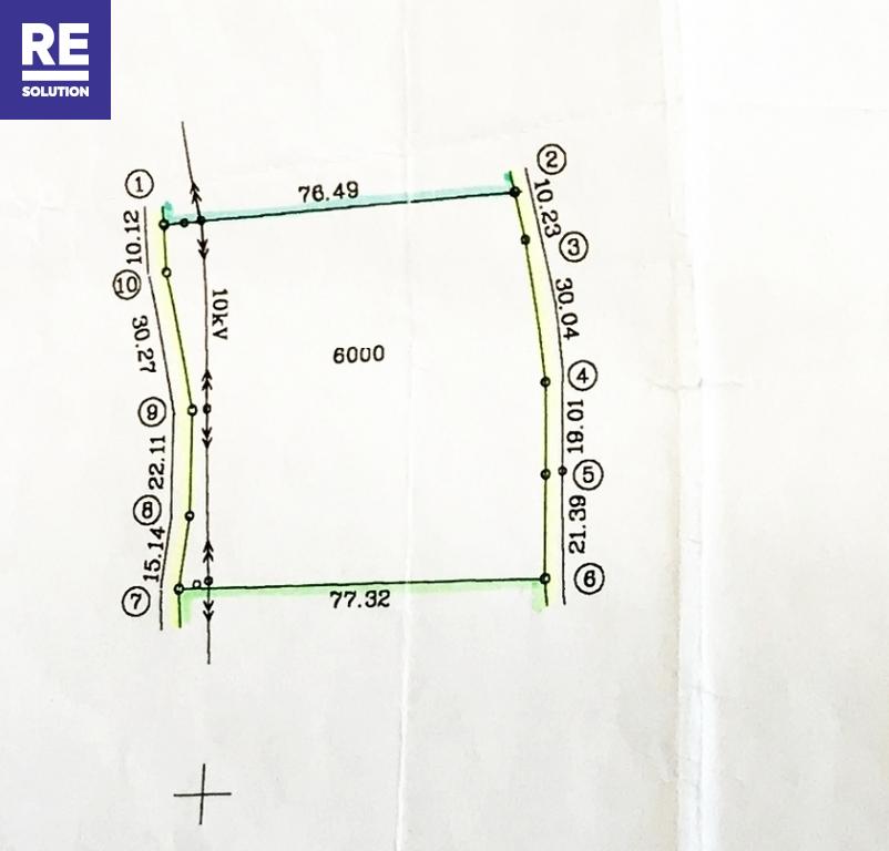 Parduodamas pramonės/sandėliavimo/prekybos paskirties sklypas Vilniaus apskritis, Vilniaus m. sav., Pavilionių k., 60 a ploto