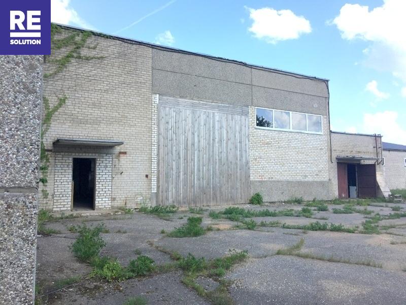 Nuomojamos gamybinės, sandėliavimo patalpos Beržų g., Plungės m., Plungės r. sav., 500 m2 ploto