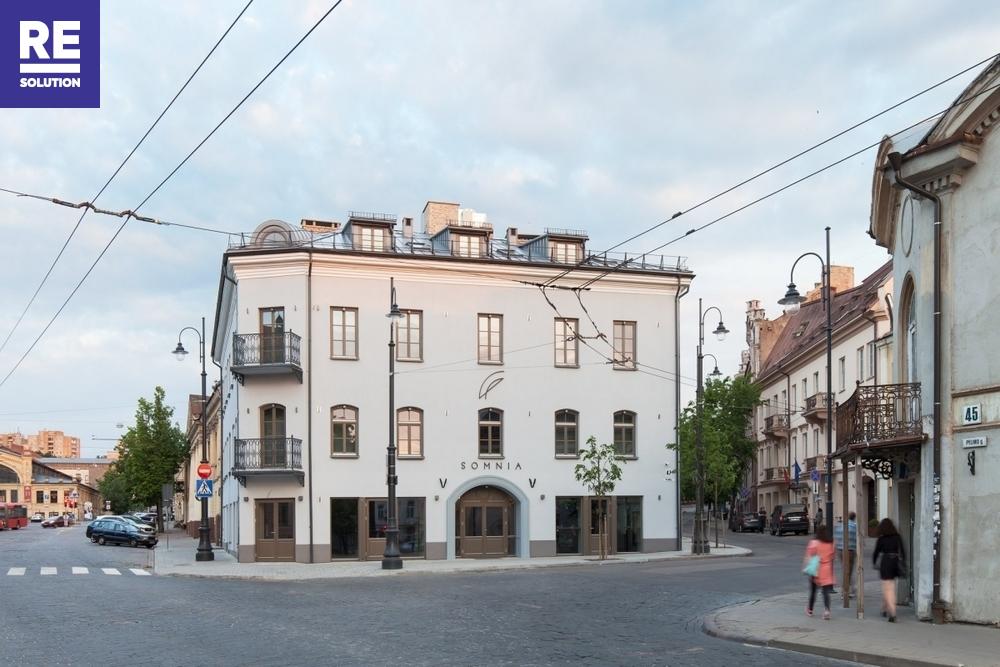 Nuomojamos prekybos patalpos Gėlių g., Senamiestis, Vilniaus m., Vilniaus m. sav., 170 m2 ploto