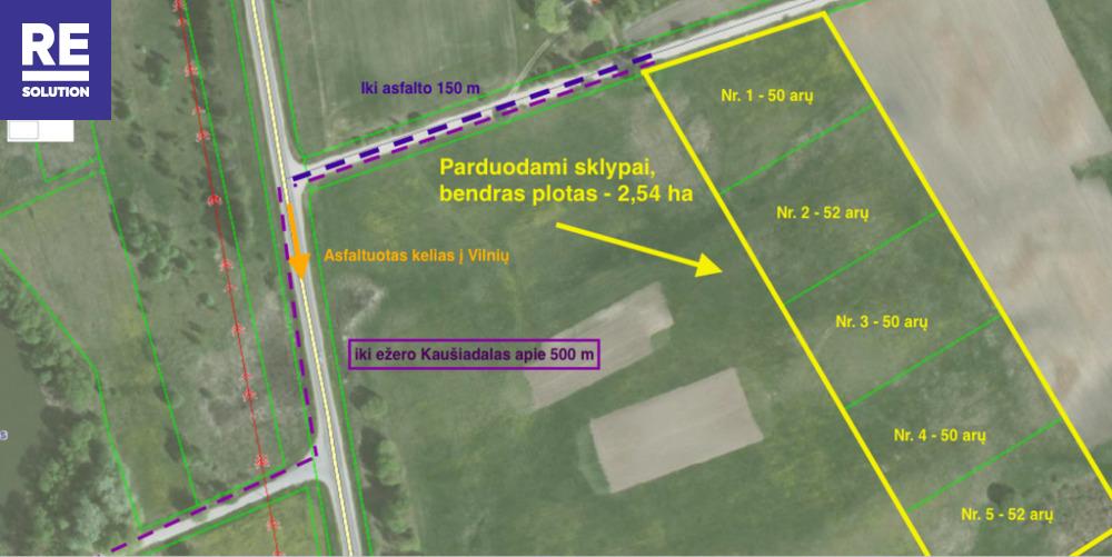 Parduodamas žemės ūkio paskirties sklypas Padvariškių k., 254 a ploto nuotrauka nr. 7