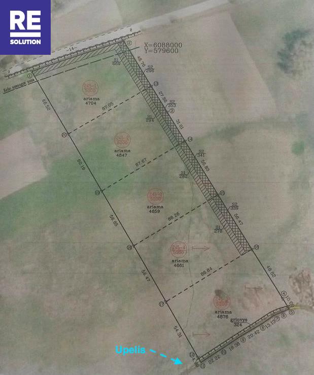 Parduodamas žemės ūkio paskirties sklypas Padvariškių k., 254 a ploto nuotrauka nr. 8