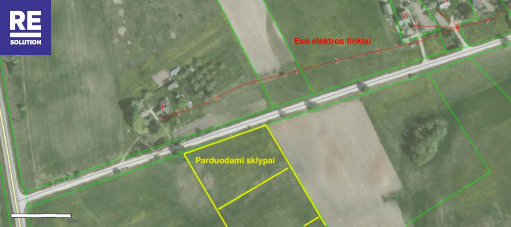 Parduodamas žemės ūkio paskirties sklypas Padvariškių k., 254 a ploto nuotrauka nr. 9