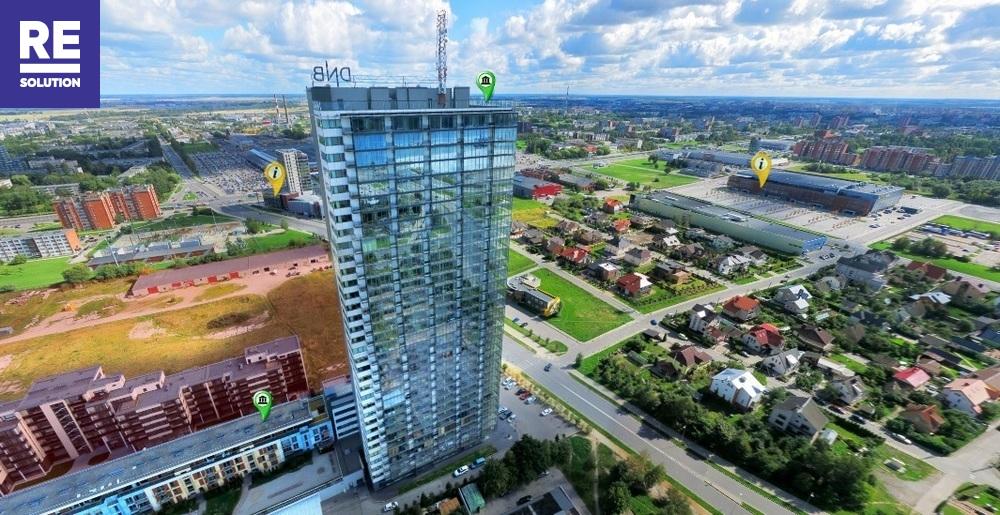 Parduodamas butas Kuosų g., Centras, Klaipėdos m., Klaipėdos m. sav., 86 m2 ploto, 3 kambariai