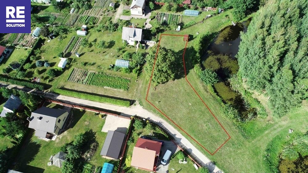 Parduodamas sodų paskirties sklypas Ilgoji g., Gervėnų k., Šiaulių r. sav., 8.93 a ploto