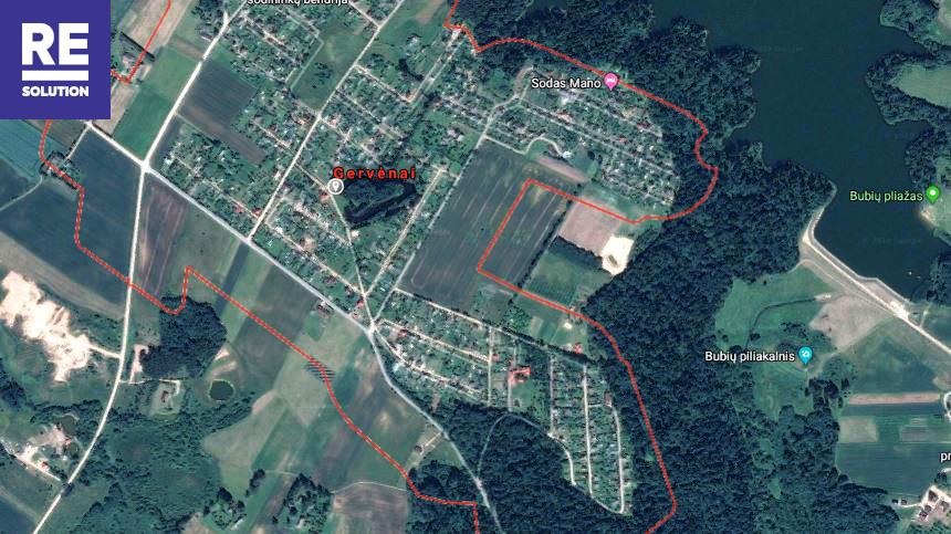 Parduodamas sodų paskirties sklypas Ilgoji g., Gervėnų k., Šiaulių r. sav., 8.93 a ploto nuotrauka nr. 11
