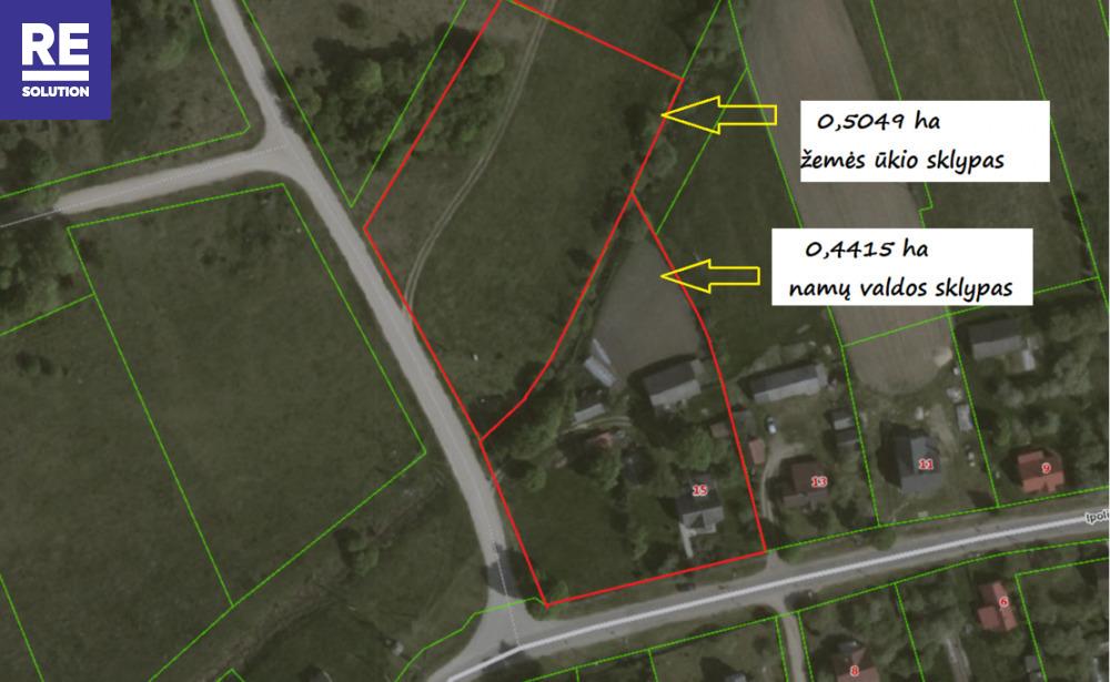 Parduodamas namas Ipolito Jundzilo g., Pabarės k., Šalčininkų r. sav., 113.68 m2 ploto, 2 aukštai nuotrauka nr. 23