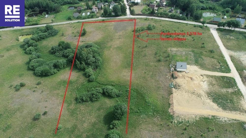 Parduodamas žemės ūkio paskirties sklypas Užuežerės k., Vilniaus r. sav., 258 a ploto nuotrauka nr. 3