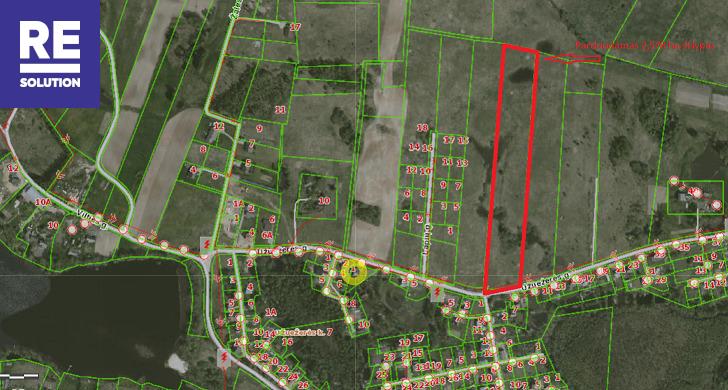 Parduodamas žemės ūkio paskirties sklypas Užuežerės k., Vilniaus r. sav., 258 a ploto nuotrauka nr. 8