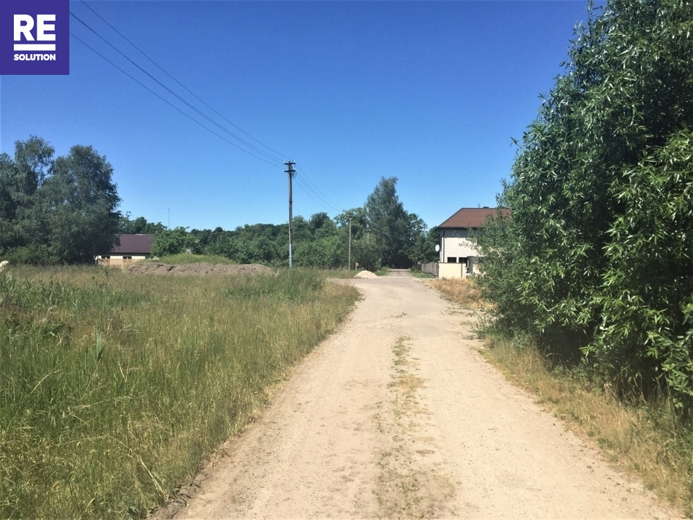 Parduodamas namų valdos paskirties sklypas Karmėlavos II k., Kauno r. sav., 18 a ploto
