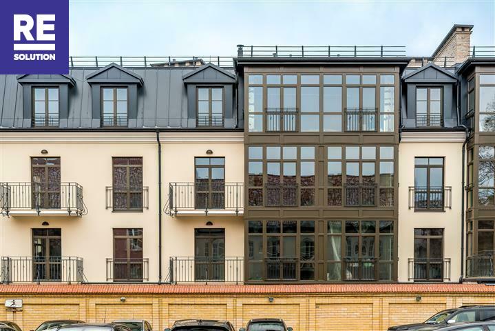 Parduodamas butas Labdarių g., Senamiestis, Vilniaus m., Vilniaus m. sav., 77.56 m2 ploto, 3 kambariai nuotrauka nr. 2