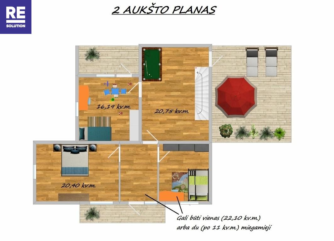 Parduodamas namas T. Kosciuškos g., Šalčininkuose, 270 kv.m ploto, 2 aukštai nuotrauka nr. 21
