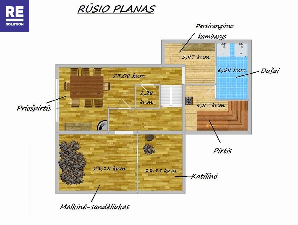 Parduodamas namas T. Kosciuškos g., Šalčininkuose, 270 kv.m ploto, 2 aukštai nuotrauka nr. 20