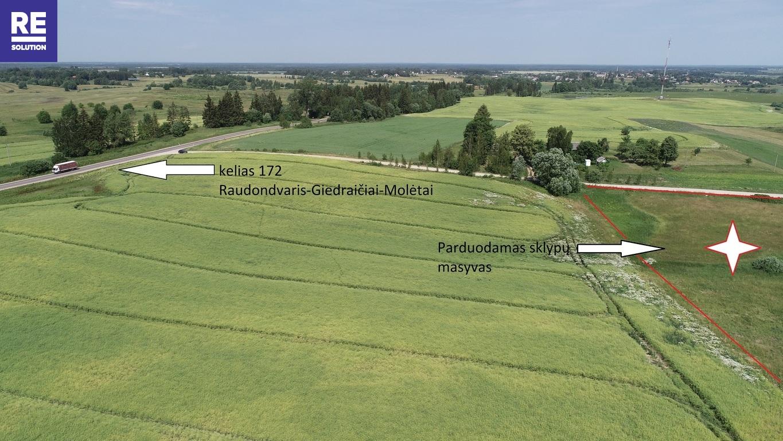 Parduodamas žemės ūkio paskirties sklypas Padvariškių k., 254 a ploto nuotrauka nr. 5