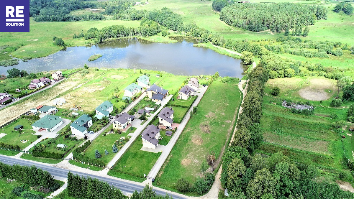 Parduodamas namų valdos paskirties sklypas Ežero g., Riešės k., Vilniaus r. sav., 15 a ploto