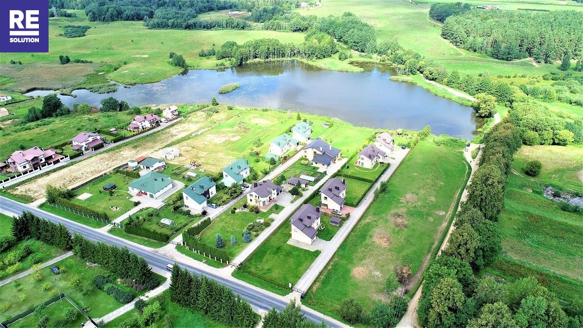 Parduodamas namų valdos paskirties sklypas Ežero g., Riešės k., Vilniaus r. sav., 15 a ploto nuotrauka nr. 4
