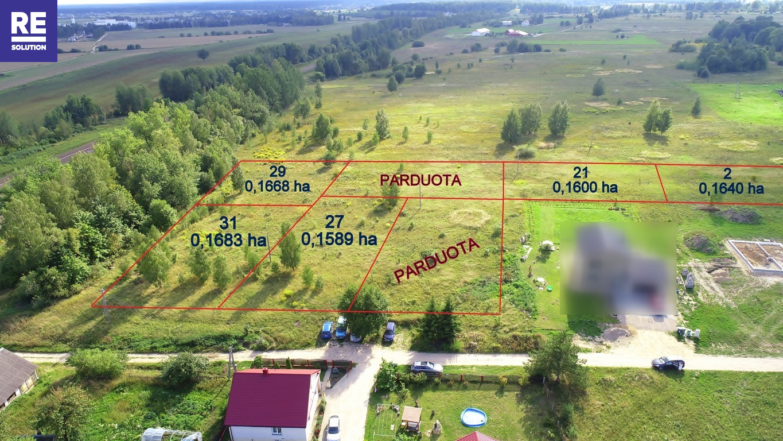 Parduodamas namų valdos sklypas Katiliškių g., Liepkalnis, Vilniaus m., Vilniaus m. sav., 16.83 a ploto nuotrauka nr. 2