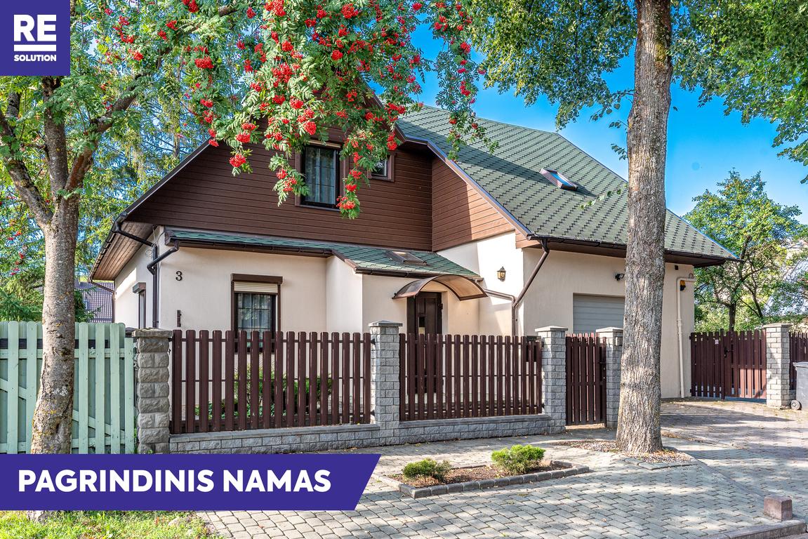 Parduodamas namas Gulbių g., Žvėryne, Vilniuje, 262.6 kv.m ploto, 2 aukštai nuotrauka nr. 2