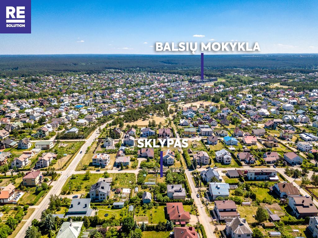 Parduodamas namų valdos paskirties sklypas Žynių g., Balsiai, Vilniaus m., Vilniaus m. sav., 8.43 a ploto nuotrauka nr. 3