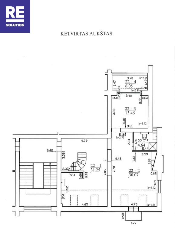 Butas Žirmūnų g., Žirmūnuose, Vilniuje, 162.92 kv.m ploto, 5 kambariai nuotrauka nr. 13