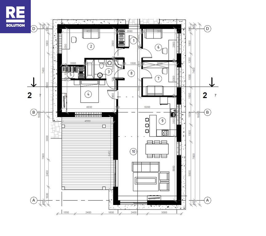 Parduodamas namas Jeronimo Cicėno g., Pavilnys, Vilniaus m., Vilniaus m. sav., 115 m2 ploto, 1 aukštai nuotrauka nr. 17