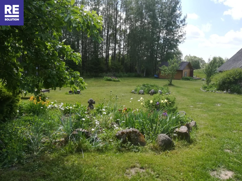 Parduodama įstabaus grožio sodyba Molėtų rajone nuotrauka nr. 13