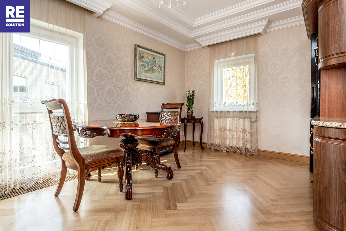 Parduodamas butas Pušų g., Žvėryne, Vilniuje, 186 kv.m ploto, 3 kambariai nuotrauka nr. 12