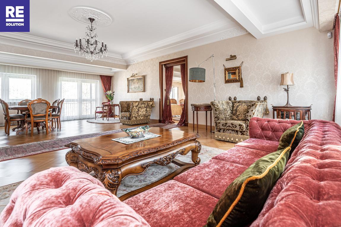 Parduodamas butas Pušų g., Žvėryne, Vilniuje, 186 kv.m ploto, 3 kambariai nuotrauka nr. 1