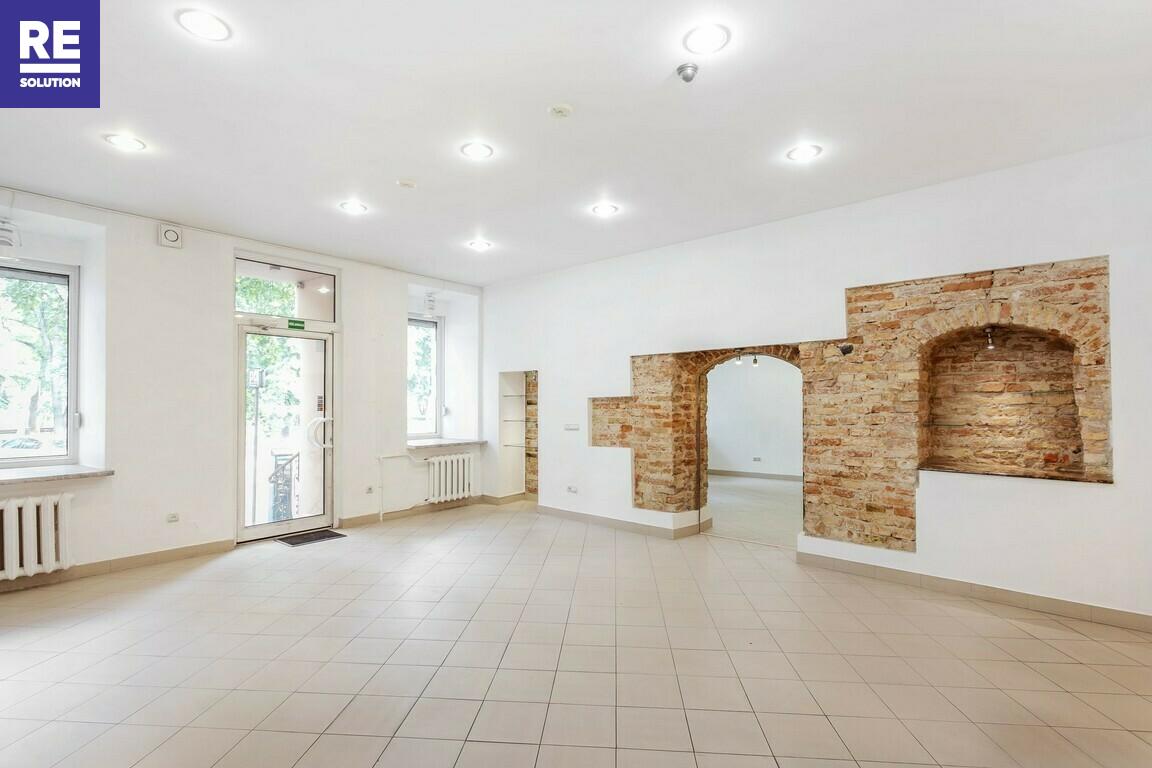 Nuomojamos patalpos Barboros Radvilaitės g., Senamiestyje, Vilniuje, 62 kv.m ploto