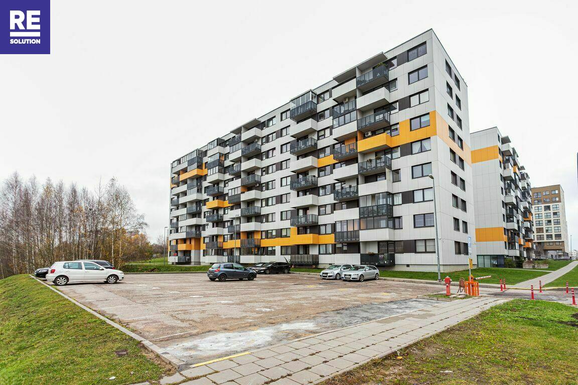 Parduodamas butas Girulių g., Pašilaičiuose, Vilniuje, 41.22 kv.m ploto, 1 kambariai nuotrauka nr. 23