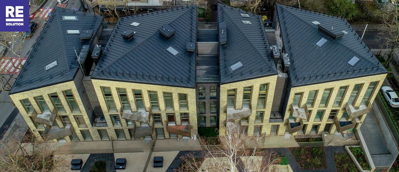 Parduodamas butas Vytauto g., Žvėryne, Vilniuje, 83.64 kv.m ploto, 3 kambariai