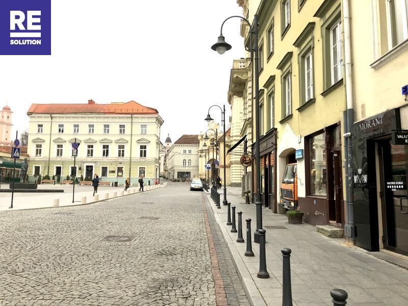 Nuomojamos patalpos Aušros Vartų g., Senamiestyje, Vilniuje, 140 kv.m ploto