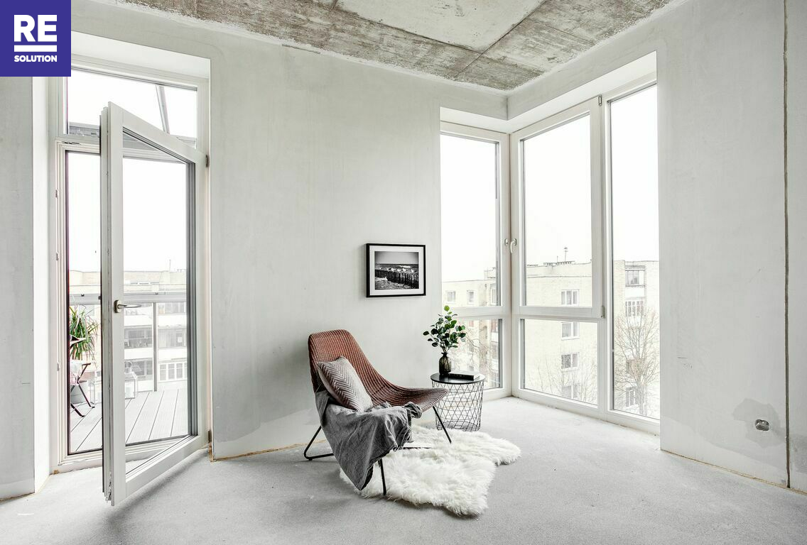 Parduodamas butas Peteliškių g., Užupis, Vilniaus m., Vilniaus m. sav., 61.73 m2 ploto, 3 kambariai nuotrauka nr. 3