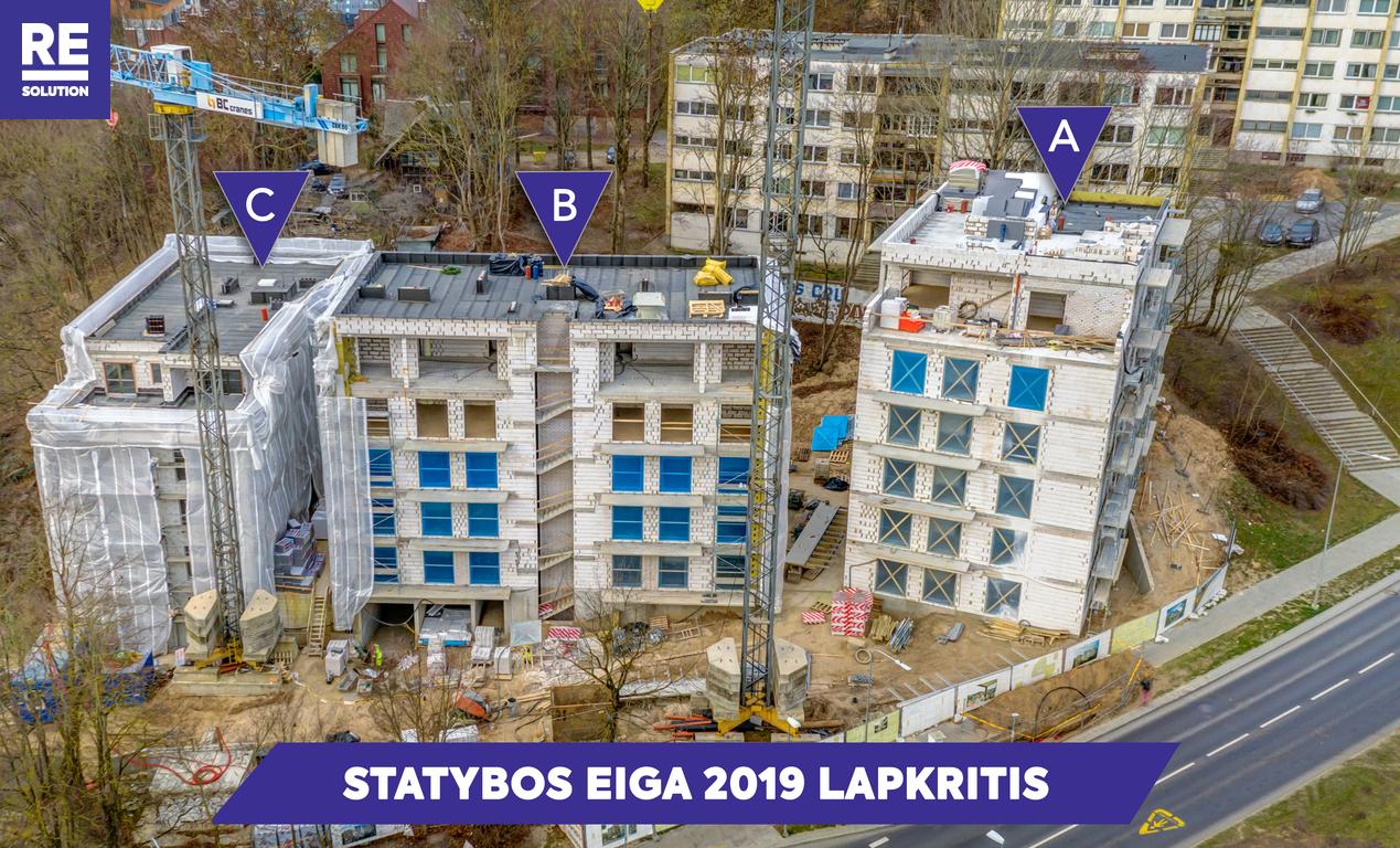 Parduodamas butas Olandų g., Antakalnis, Vilniaus m., Vilniaus m. sav., 23.5 m2 ploto, 1 kambariai