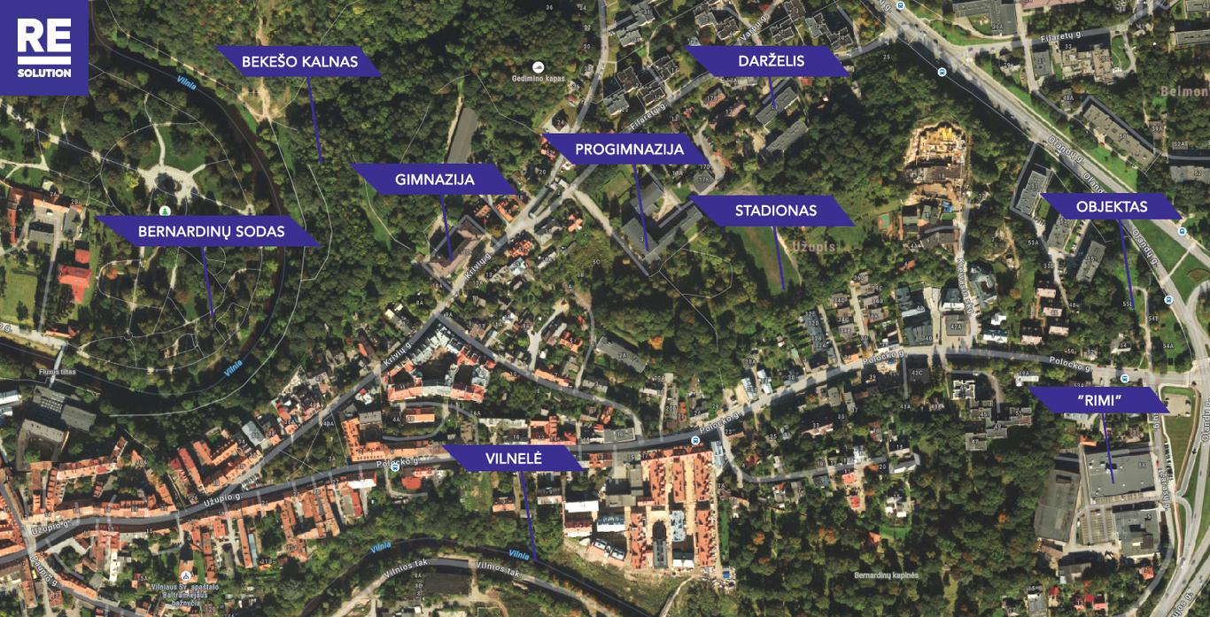 Parduodamas butas Olandų g., Užupis, Vilniaus m., Vilniaus m. sav., 53 m2 ploto, 3 kambariai nuotrauka nr. 10