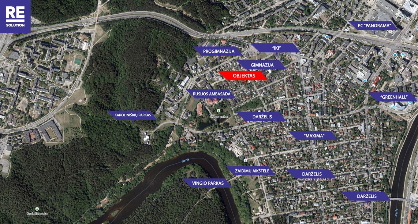 Parduodamas namas Gulbių g., Žvėryne, Vilniuje, 262.6 kv.m ploto, 2 aukštai nuotrauka nr. 23
