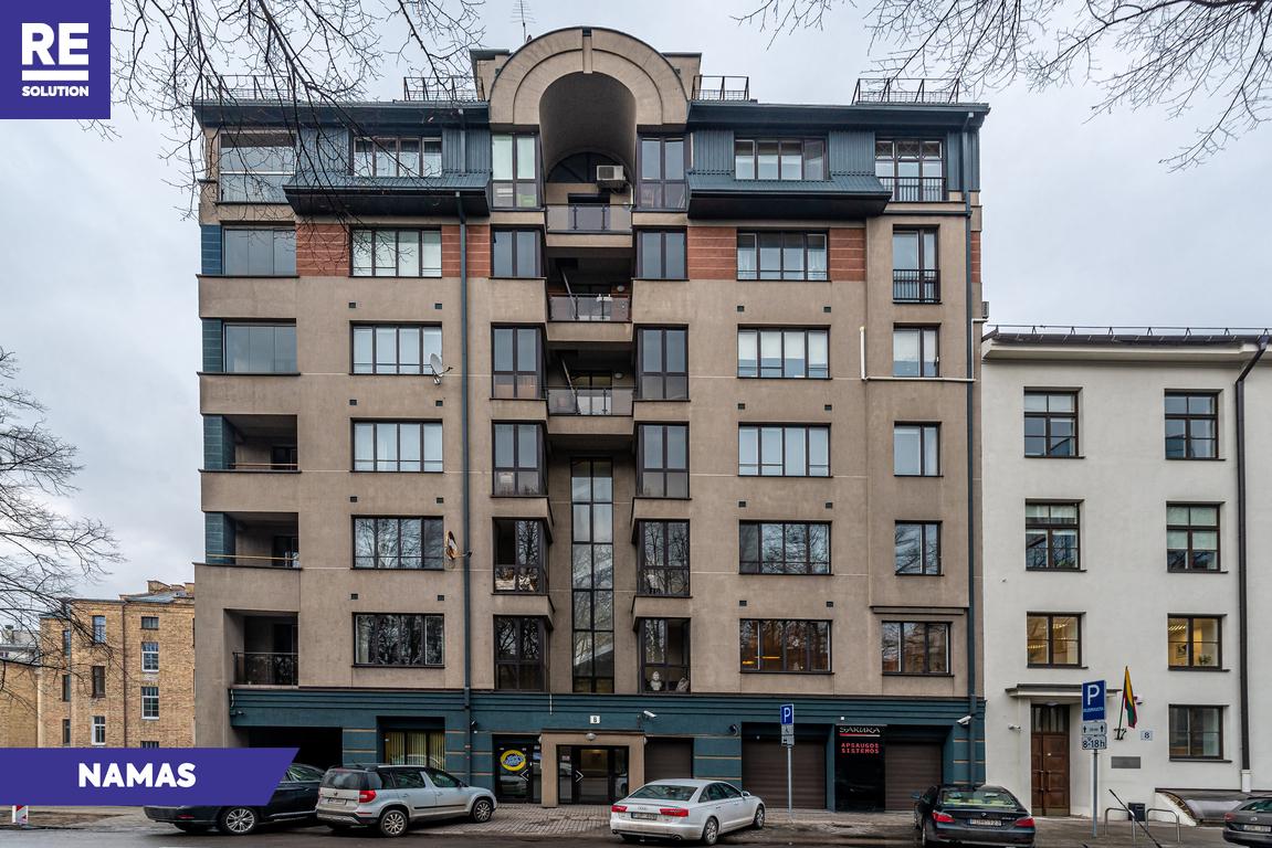 Parduodamas butas Mindaugo g., Senamiestyje, Vilniuje, 110.22 kv.m ploto, 3 kambariai nuotrauka nr. 18