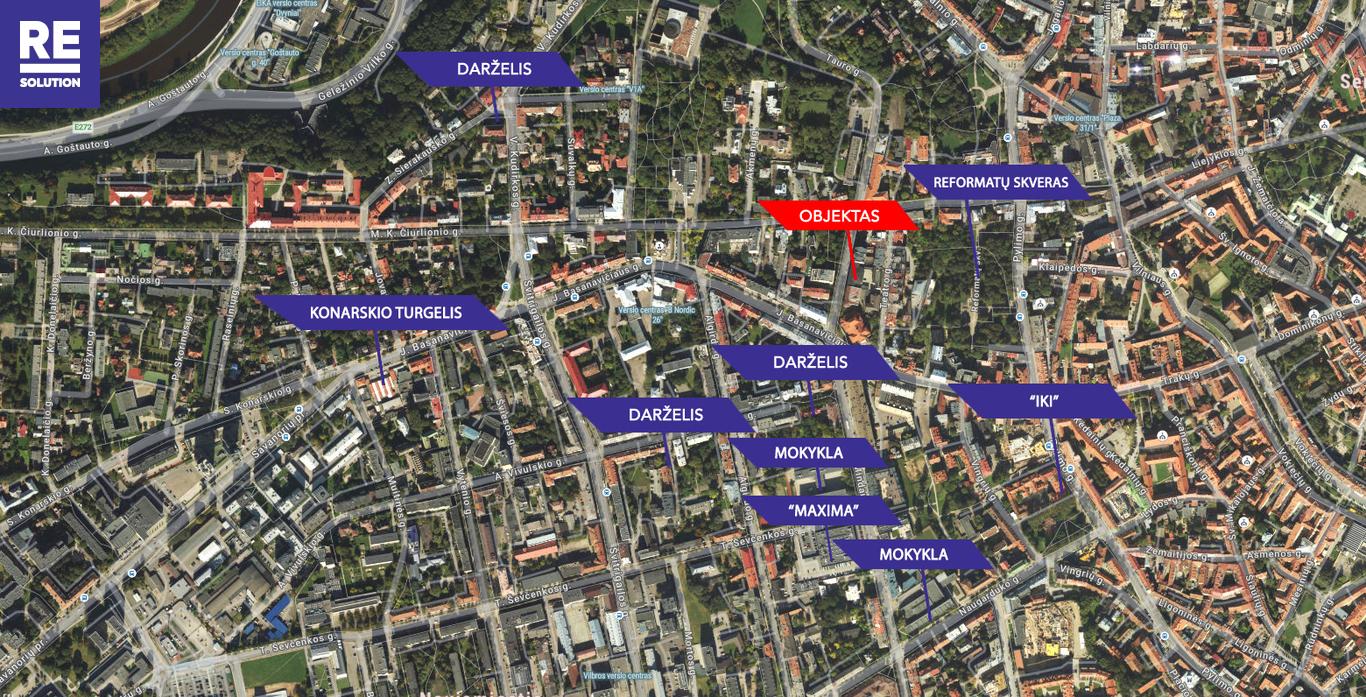 Parduodamas butas Mindaugo g., Senamiestyje, Vilniuje, 110.22 kv.m ploto, 3 kambariai nuotrauka nr. 23