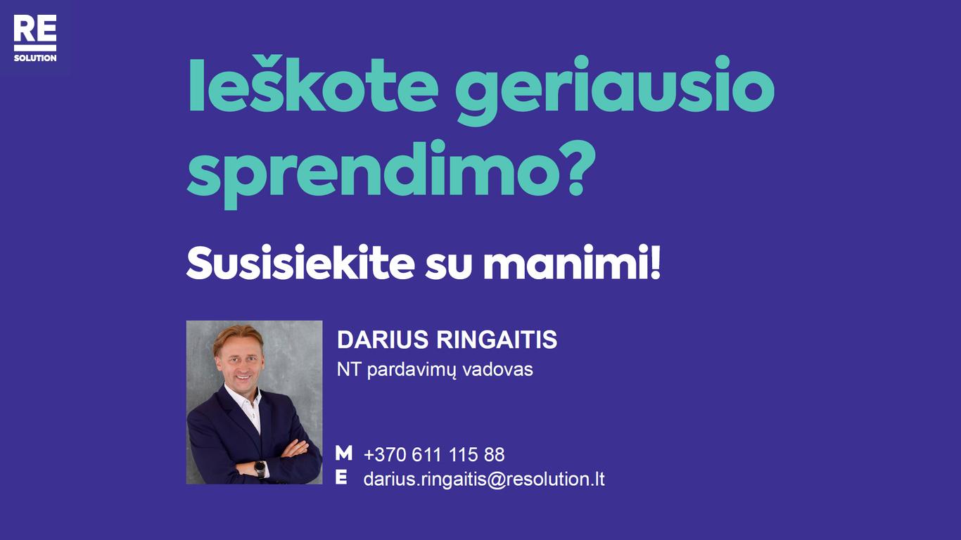 Parduodamas butas Mindaugo g., Senamiestyje, Vilniuje, 110.22 kv.m ploto, 3 kambariai nuotrauka nr. 24