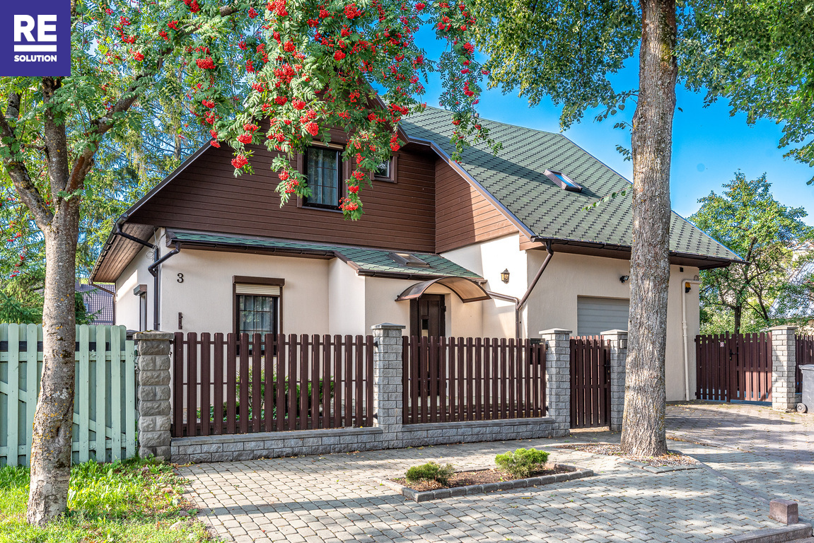 Parduodamas namas Gulbių g., Žvėryne, Vilniuje, 193.26 kv.m ploto, 2 aukštai nuotrauka nr. 1