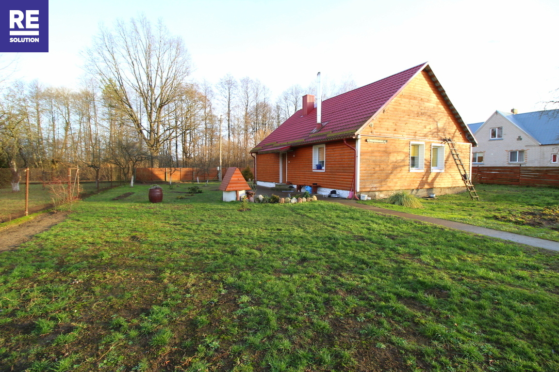 Parduodamas namas Krantinės g., Jašiūnų mstl., 79 kv.m ploto, 1 aukštai